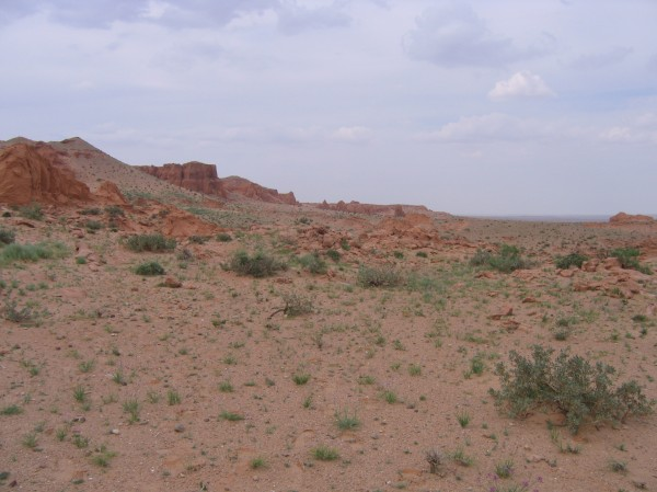 Gobi desert, Inner Mongolia. Note lack of crowds.